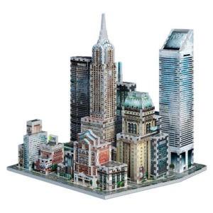 Tag til New York med dette flotte 3D Puslespil fra Legeakademiet