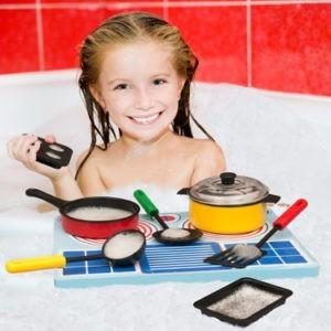 Sjovt og anderledes legetøj til badekarret.