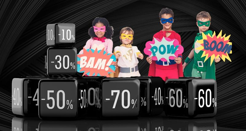 Spar stort på legetøj på Black Friday hos Legeakademiet