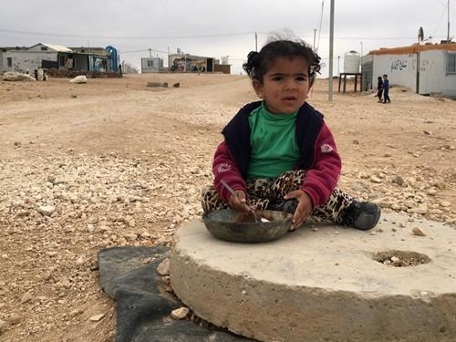 Jordan - Zaatari Refugee Camp - Syrian refugees