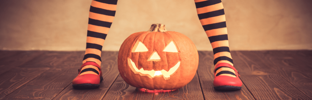 Inspiration til halloween madopskrifter og (u)hyggelige sanselege.